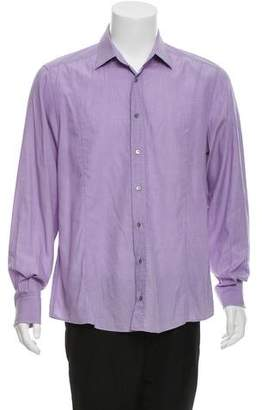 Gucci Woven Button-Up Shirt