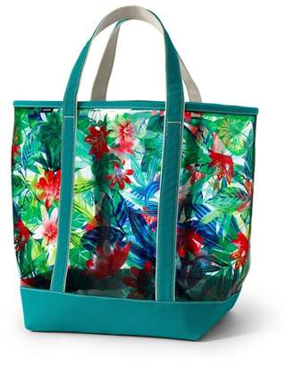 Lands' End Multi Clear Tote Bag
