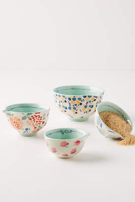 Anthropologie Delilah Measuring Cups, Set of 4