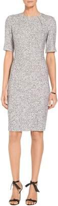 St. John Olivia Boucle Knit Dress