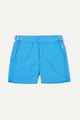 Orlebar Brown Kids - Russell Shell Swim Shorts - Blue