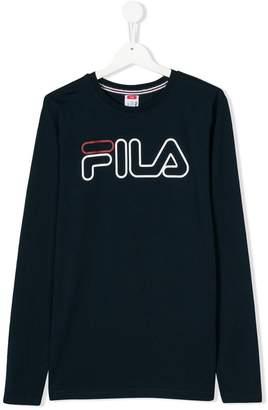 Fila TEEN logo printed T-shirt