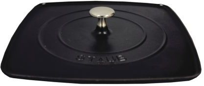 Staub Black Grill Press