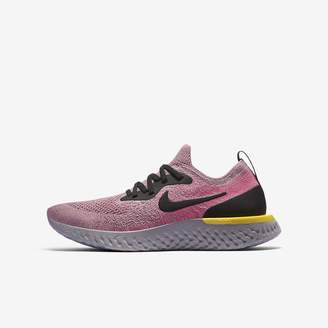 Nike Epic React Flyknit Big Kids' Running Shoe