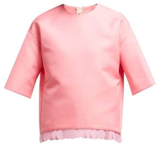 Marni Sequin Embellished Top - Womens - Pink