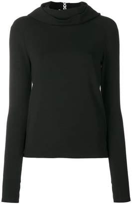 Paco Rabanne turtleneck fine knit sweater