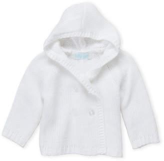 Baby Dove (Newborn Girls) Hooded Knit Cardigan