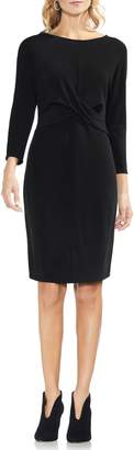 Vince Camuto Cross Front Body-Con Dress