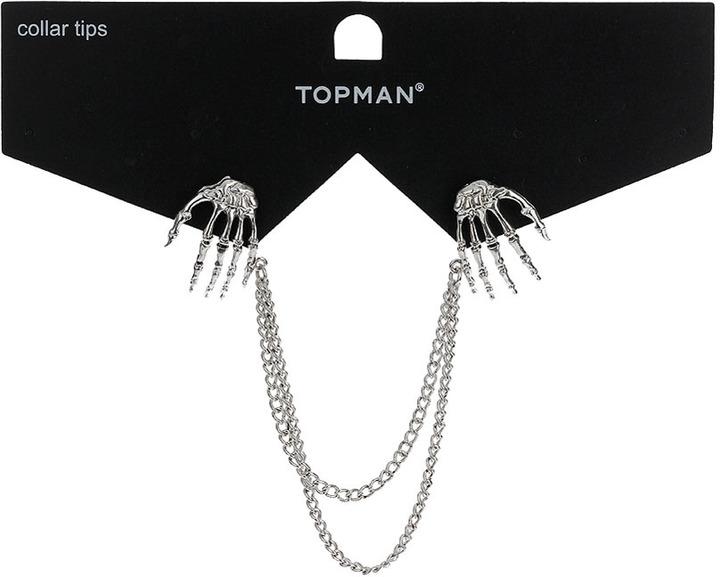 Topman Skull Hand Collar tips