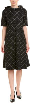 Escada Wool-Blend Shift Dress