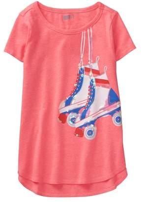 Crazy 8 Sparkle Roller Skates Tee