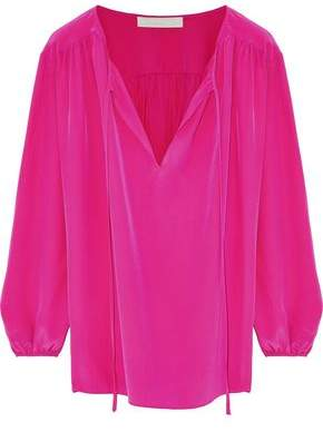 Vanessa Bruno Silk Crepe De Chine Top