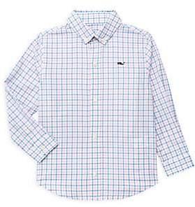 Vineyard Vines Little Boy's & Boy's Gingham Shirt