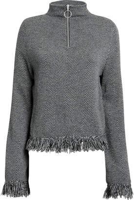 Zoe Jordan Laplace Zip Pullover