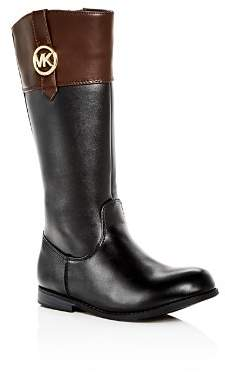 Michael Kors Girls' Emma Kelly Riding Boots - Toddler, Little Kid, Big kid
