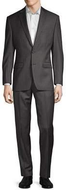 Lauren Ralph Lauren Classic-Fit Striped Wool Suit