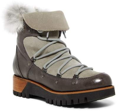 Manas Faux Fur Trim Boot