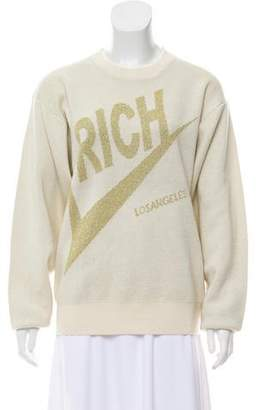 Joyrich Oversize Metallic Sweater