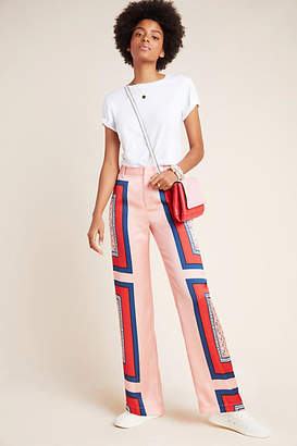Scotch & Soda Abstract Wide-Leg Trousers