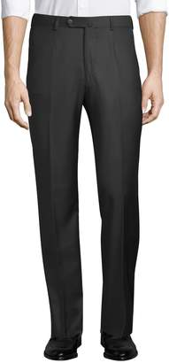 Isaia Men's Solid 4-Pocket Trousers