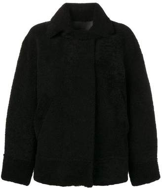Sprung Frères shearling bomber coat