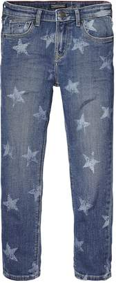 Tommy Hilfiger Unisex Star Print Jeans