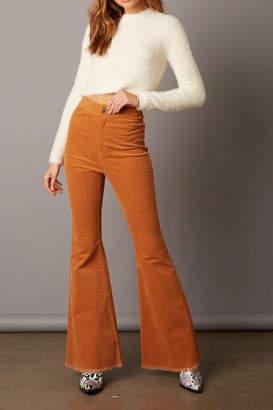 Cotton Candy Corduroy Bell Bottom Pants