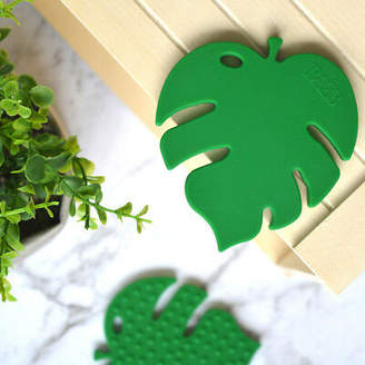 NEW Monstera Leaf Teether by Baeb Label