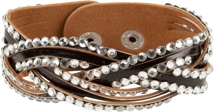 Full Tilt Braided Cuff Bracelet