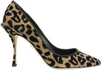 Dolce & Gabbana Lori Leopard Pumps