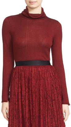 alice + olivia Billi Slim Turtleneck Sweater $350 thestylecure.com