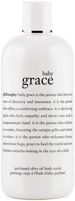 philosophy baby grace perfumed olive oil body scrub, 16 oz
