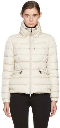 Moncler Ivory Down Irex Jacket