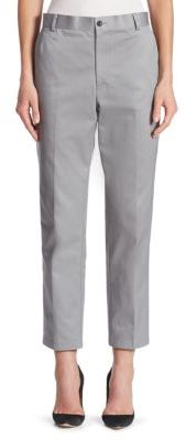 Thom Browne Cotton Twill Trouser $990 thestylecure.com