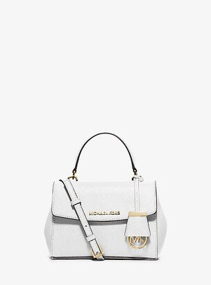 Michael Kors Ava Extra-Small Saffiano Leather Crossbody $178 thestylecure.com