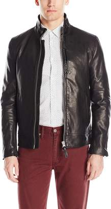 Mackage Men's Tyrell Distressed Leather Jacket