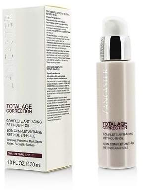 Lancaster NEW Total Age Correction Complete Anti-Aging Retinol-In-Oil 30ml