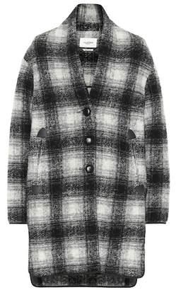 Etoile Isabel Marant Isabel Marant, Étoile Gabrie checked wool-blend jacket