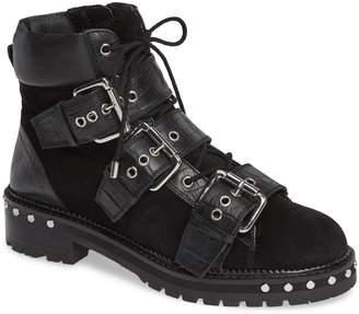 Topshop Animal Studded Boot
