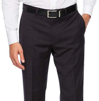 COLLECTION Collection by Michael Strahan Collection By Michael Strahan Plaid Slim Fit Stretch Suit Pants