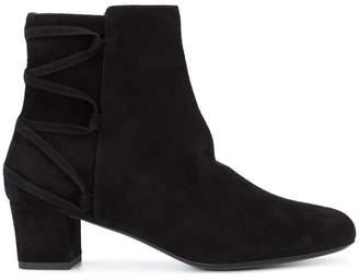 Lanvin lace up detail ankle boots