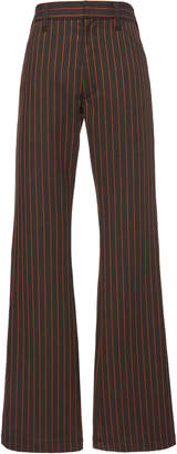 Marni Relaxed Fit Striped Trouser