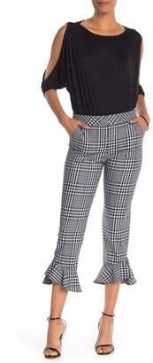 Trina Turk Cahuenga Gingham Check Print Pants