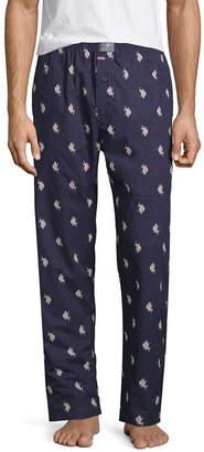 U.S. Polo Assn. USPA Mens Poplin Pajama Pants