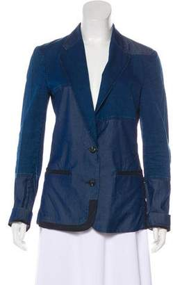 Acne Studios Cindy Patch Denim Blazer