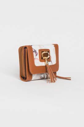 Ardene Small Floral Pocket Wallet