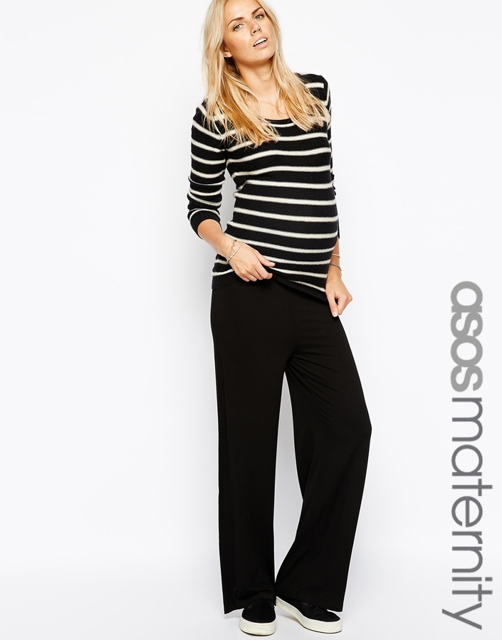 Asos Exclusive Lounge Pants With Fold Over