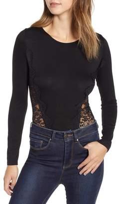 ASTR the Label Open Back Lace Bodysuit