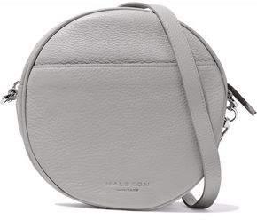 Halston Pebbled-Leather Shoulder Bag