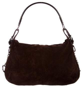 Sergio Rossi Suede & Leather Hobo